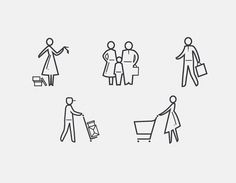 Nordstrom Rack Iconography | typetoken® #icons #pictograms