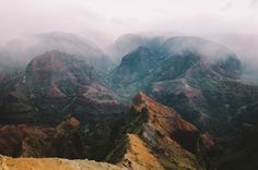 jared chambers Waimea Canyon Kauai #photography #mountains #canyon #landscape