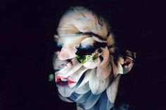 Double Exposure Photography by Lara Kiosses #inspiration #photography #double #explosure