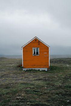 Iceland Road Trip Rescue hut in Arnarbæli, Iceland