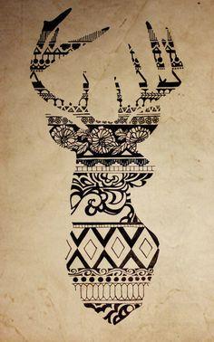 Oh Deer, Oh My Art Print #deer #vector #design #art #animal