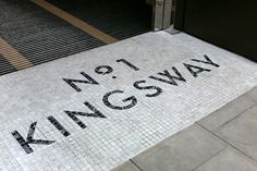 dn&co. | No. 1 Kingsway #typography