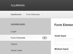 Dribbble - AppAdmin by Daniel Sandvik