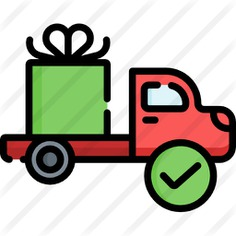 See more icon inspiration related to shipped, shipping and delivery, delivery truck, cargo truck, transportation, automobile, truck, vehicle and transport on Flaticon.