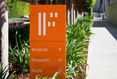 Forma by About Design #orange #branding #sign
