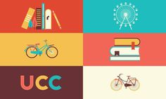 LECTURA EN BICICLETA. on Behance #colors