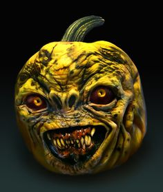 The Scariest Pumpkin Carvings Ever