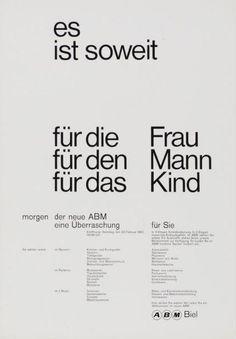 Atelier Ernst + Ursula Hiestand #swiss #minimal #60's
