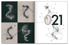 FFFFOUND!   Fur Bomb - iPhone Project on the Behance Network #abstract #vector #book #black #whtie #numbers