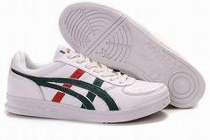Asics Top Seven White/Dark Green/Red Men\'s