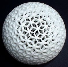 rhomball.jpg (JPEG Image, 564x560 pixels) #white #material #texture #printing #3d