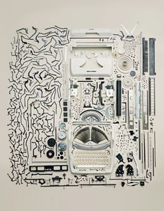 old typewriter #machine #process #print #dissect #typewriter