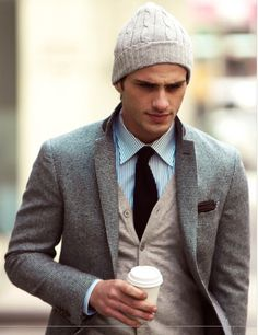 Likes | Tumblr #fashion #male #tweed #style