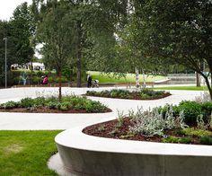 Stevenage Town Centre Gardens by HTA Landscape