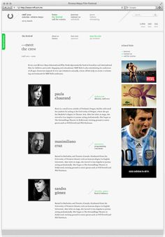 RMFF — Riviera Maya Film Festival on Behance #green #brand #film festival #rmff # #riviera #maya #film #festival