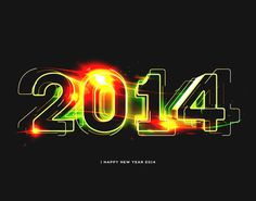 Great New Year Illustrations by Moe Pike Soe - Bolt from the Blue