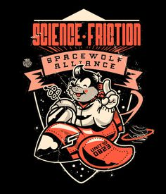 Science Friction Jim Stark Co. #illustration #design #character #shirt