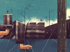 365 awesome designers #illustration #dan #matutina