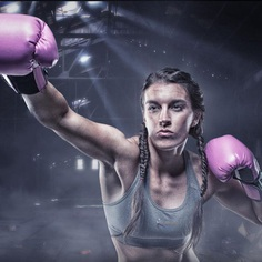 Beautiful Fitness and Athletic Portraiture by Eric Dejuan
