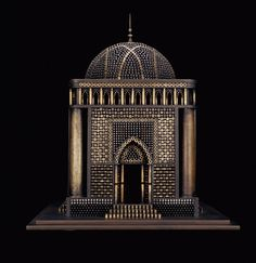 Al Farrow Reliquaries al farrow Mausoleum (II) #steel #bullets #shells #mausoleum