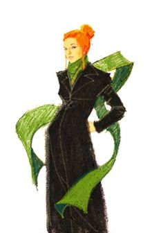 6421269981_3ce23fbe6b_b.jpg 601×856 pixels #woman #girl #vaana #black #scarf #coat #fashion #lady