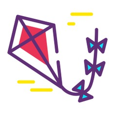 See more icon inspiration related to kite, free time, hobbies and free time, leisure, childhood, hobby, fun, entertainment, fly and game on Flaticon.