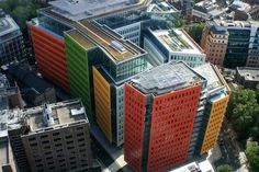 Central St Giles in London bright art architecture #bright #architecture #art #exterior #buildings