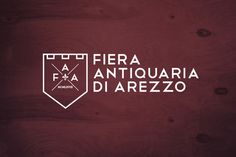 Fiera Antiquaria di Arezzo on Behance #antiquaria #design #graphic #di #arezzo #fiera #logo #italy
