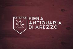 Fiera Antiquaria di Arezzo on Behance #antiquaria #design #graphic #di #arezzo #fiera #logo #italy