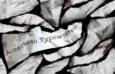 americantypewritter #type #specimen #poster