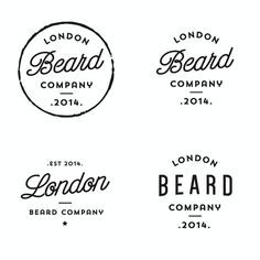 London Beard Company #beard #beards #logo #logos #london