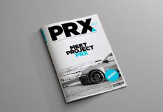 Project PRX Magazine on Behance #swiss #layout #swiss design #photography #brochure #magazine #gotham #clean #triangle #car #automotive #mon