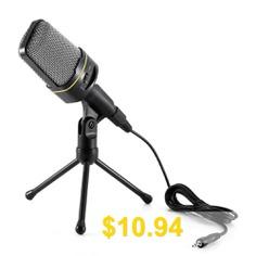 Yanmai #Desktop #Microphone #Dynamic #Condenser #Sound #MIC #- #BLACK