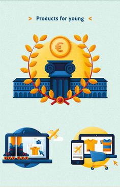 UBI Banca Restyling on Behance #icon #illustration #bank