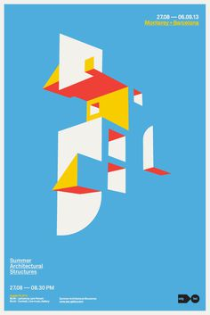 Mark Brooks, Summer Architectural Structures Convention #architecture #poster #architectural