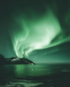 Steffen Fossbakk Captures Norway's Northern Lights in Spectacular Show