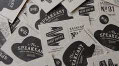 The Speakeasy Bar on Behance