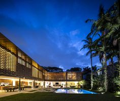 Tropical L-Shaped House #architecture #house #home #decor