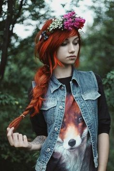 60 Cute Emo Hairstyles; What Do You Think of Emo/Scene Hair? #inspiration #emo #photography #portrait