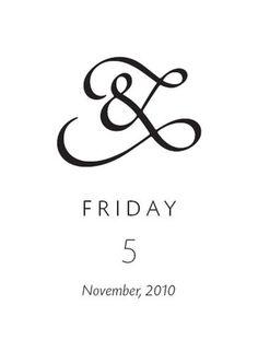 FFFFOUND! | Poetica, Ampersands - 300&65 Ampersands #ampersand #typography