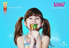 LUNY on Behance #a #flavored #makeup #girls #is #luny #for