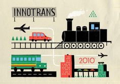Pitch Design Union » Illustration #illustration #transport #innotrans