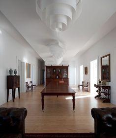 House in Porto by Álvaro Leite Siza Vieira | Yatzer™ #interior #modern #siza #antiques #minimalist