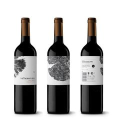 Bodegas Viñamonte // Identity & Packaging #packaging #vino #wine #vin #vi #dailos