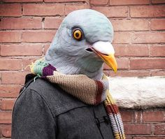 Pigeon Mask #tech #flow #gadget #gift #ideas #cool