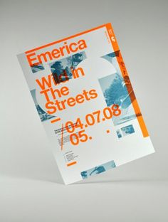 Viewing Emerica : Wild the streets 04.07.08 in the Print category :: Ember #wild #helvetica #orange #emerica