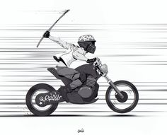 Guerilla Biker by joslin on deviantART