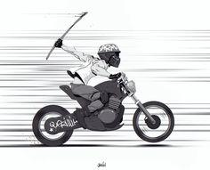 Guerilla Biker by joslin on deviantART #guerilla #biker