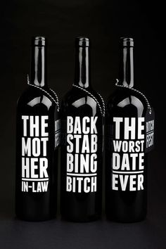 bitch fest wine #packaging #product #kenzieowens #wine