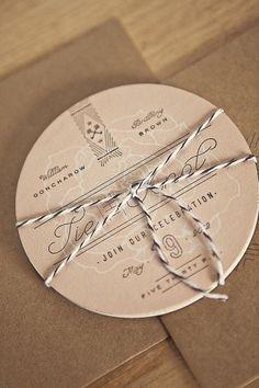 FPO: Goncharow\'s Coaster Wedding Invites